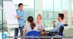 curso de comunicacion con personas con discapacidad