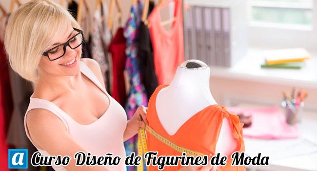 curso de diseño de figurines moda