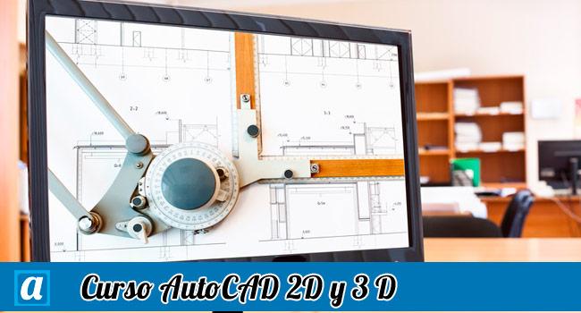 Curso autocad 2d y 3d online aprendemus cursos online for Curso arquitectura software