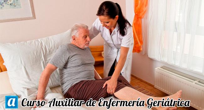 curso online de auxiliar de enfermeria geriatrica