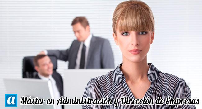 master en administracion y direccion de empresas