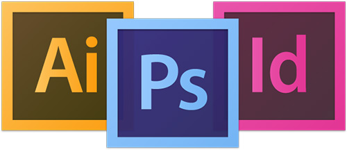 Adobe CS6 - InDesign, Photoshop & Illustrator