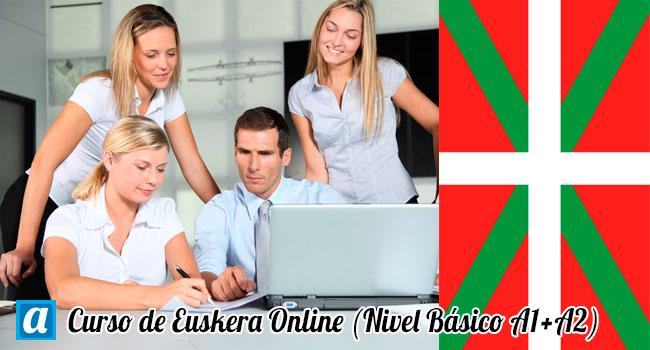 curso de euskera online nivel básico A1 + A2