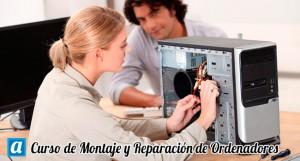 curso de montaje reparación de ordenadores (certificado de profesionalidad)