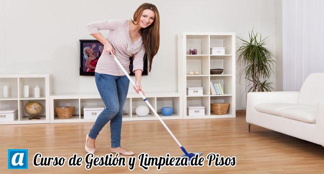 Curso de Gestión y Limpieza de Pisos