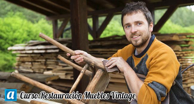 Cursos Restauracion Muebles : Curso restauración muebles vintage aprendemus cursos online
