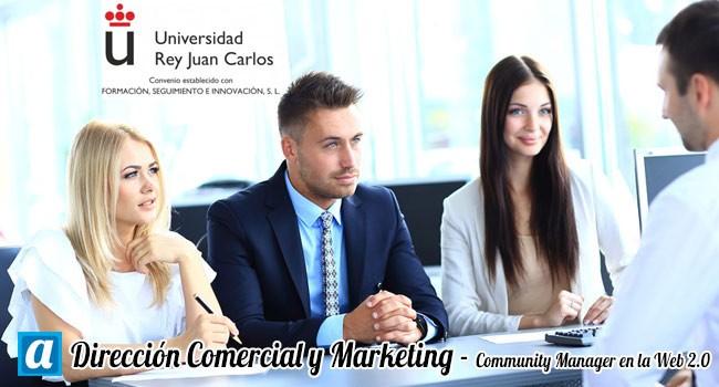Máster Dirección Comercial y Marketing - Community Manager en la Web2.0