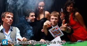 curso sobre los diferentes tipos de poker