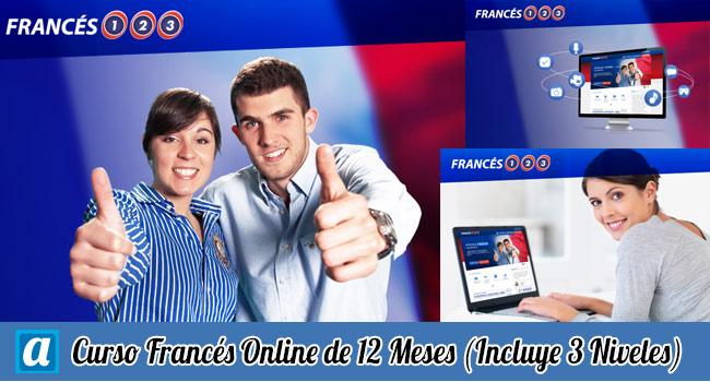Curso Francés Online de 12 Meses y 3 Niveles