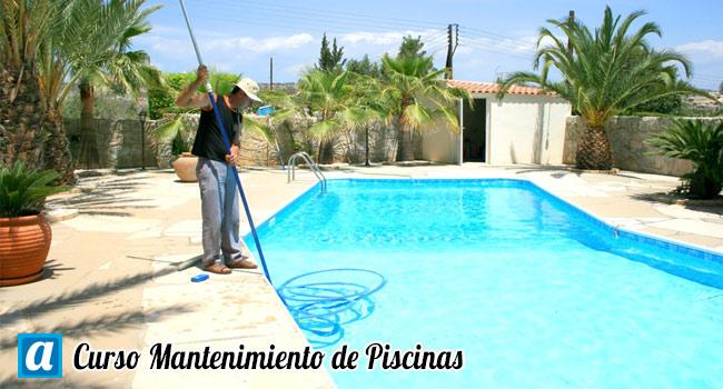 con descuento curso mantenimiento de piscinas