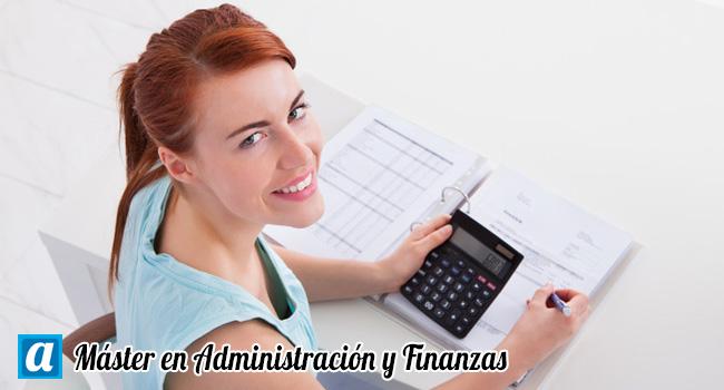 Máster en Administración y Finanzas