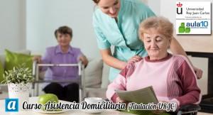 Curso Asistencia Domiciliaria (Titulación URJC)