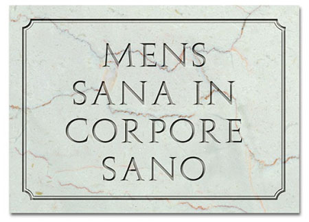 men sana in corpore sano