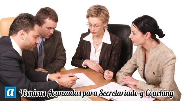 Curso Técnicas Avanzadas de Secretariado y Coaching