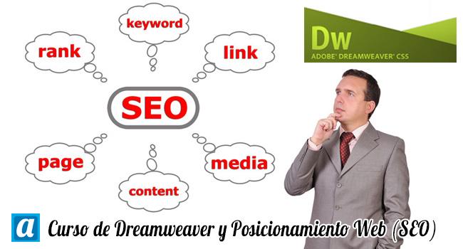 Curso de Dreamweaver y Posicionamiento en Buscadores (SEO)